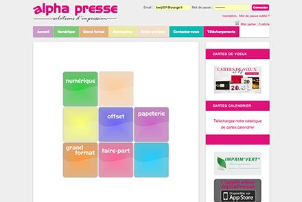 image Alpha-presse