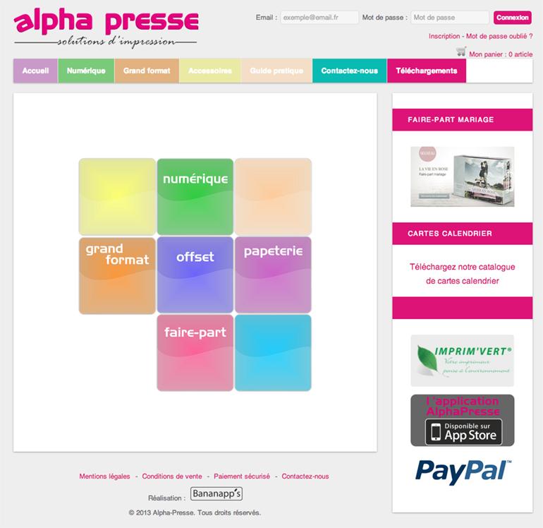 Alpha-presse